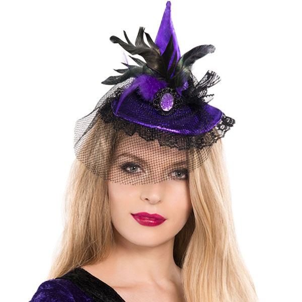 Mini Witch Adults Hat